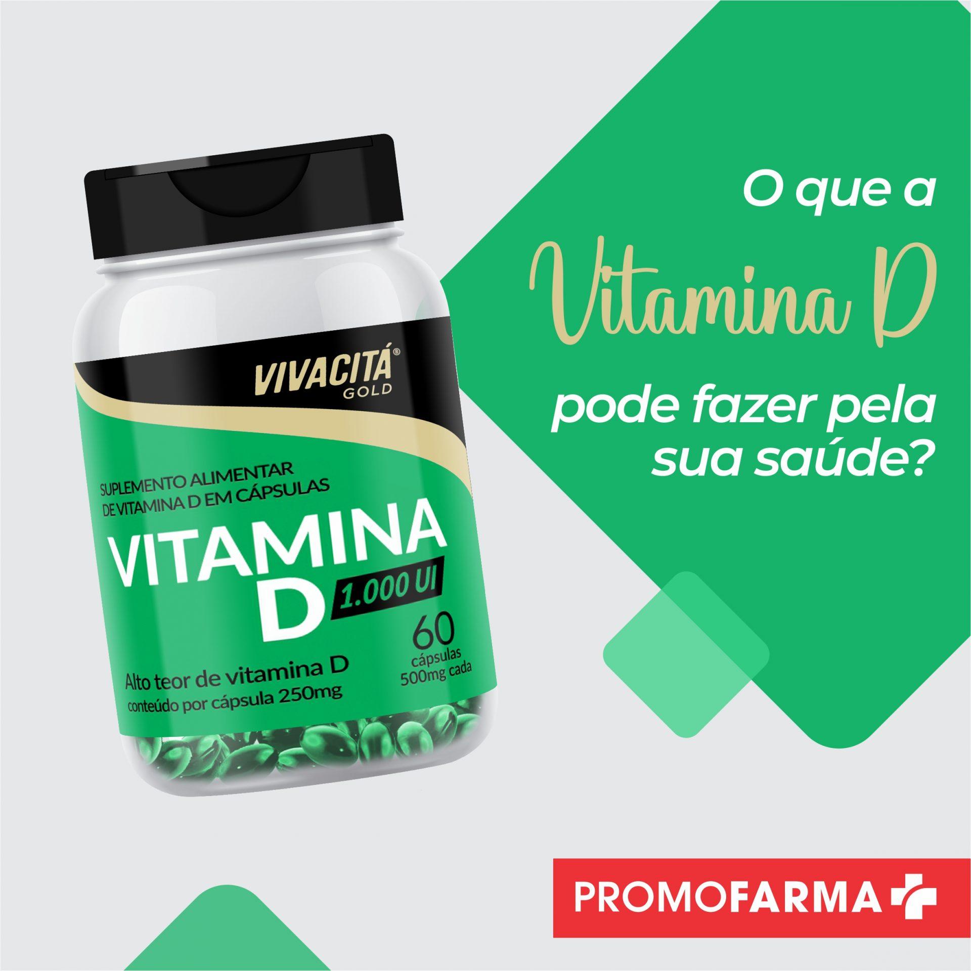 O que a Vitamina D pode fazer pela sua saúde?